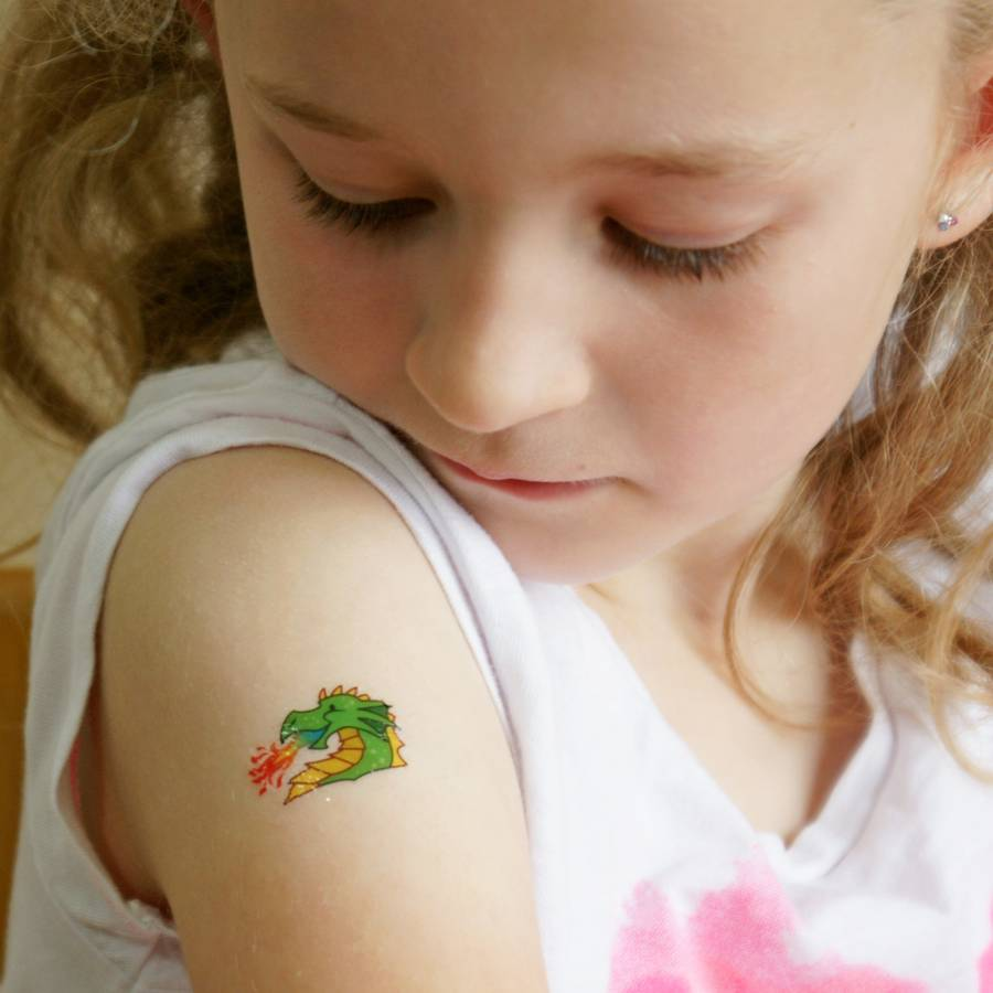 my first temporary tattoos girls by oodles of gifts