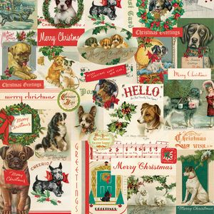 Christmas Dogs Gift Wrap - wrapping