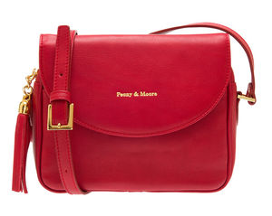 Daisy Bright Red Leather Handbag