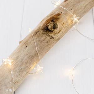 Warm White Star Micro Fairy Lights