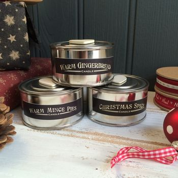 Christmas Scented Retro Candle Pot