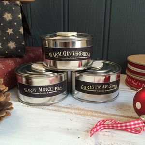Christmas Scented Retro Candle Pot - lighting