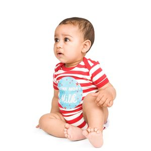 Drink More Milk Babyvest / Giftset - outfits & sets