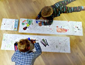 Giant Colouring Poster - books