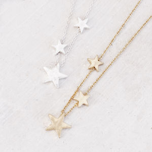 My Lucky Star Personalised Necklace - charm jewellery