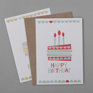 Cake Birthday Card - general birthday cards