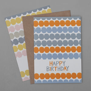 Bobbles Birthday Card - general birthday cards
