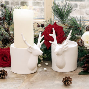 Deer Tea Light Holder - votives & tea light holders