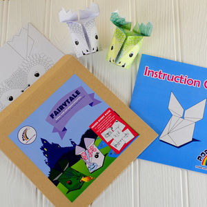 Fairytale Animals Origami Craft Kit