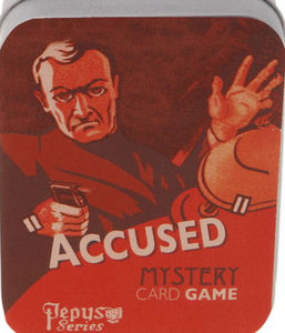 Accused Mystery Card Game