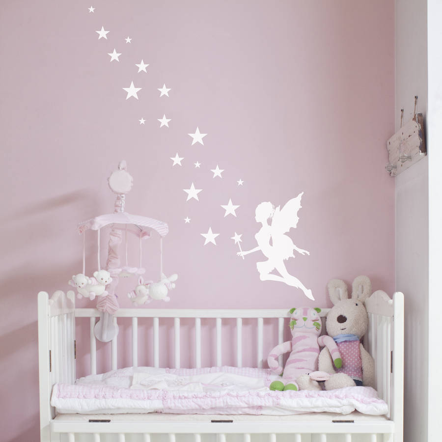 fairy magic wall stickers by nutmeg notonthehighstreet com