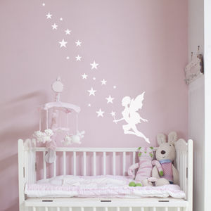 Fairy Magic Wall Sticker - wall stickers by room