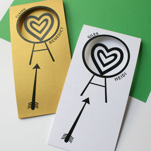 Personalised 'Archery' Card