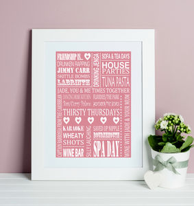 Friendship Is…Print
