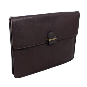 Portobello: Luxury Leather Document Portfolio - bags & purses