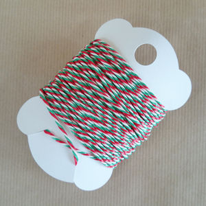 Candy Cane Bakers Twine - tape & twine