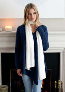 Superfine Cashmere Wrap