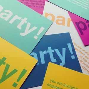 Personalised Party Invitation For All Occasions - home
