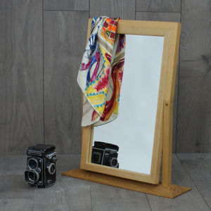 Wooden Hinged Mirror - mirrors