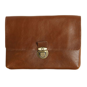 Buffalo Leather Mini iPad Case - laptop bags & cases