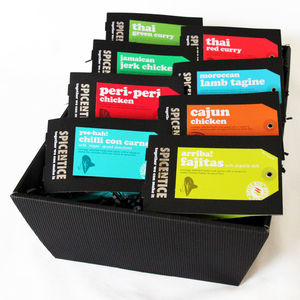 World Recipe Gift Set - food & drink gifts under £25