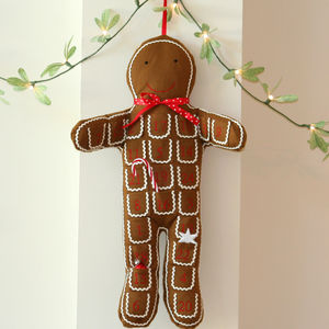 Gingerbread Man Advent Calendar - christmas sale