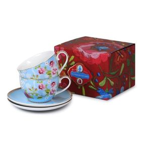 Blue Cup And Saucer Gift Sets By Pip Studio