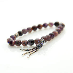 Charoite Gemstone Bracelet