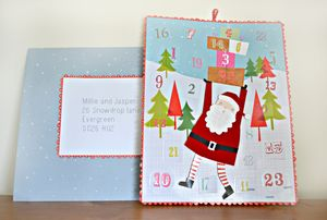 Mailable Advent Calender - advent calendars