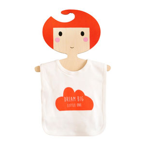 Dream Big Little One Bib