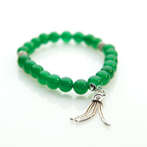 Jade Gemstone Bracelet - women's jewellery
