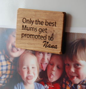 Personalised Only The Best Mums…Magnet - gifts for grandparents