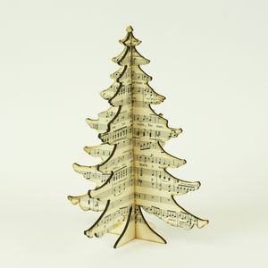 Music Table Top Christmas Tree