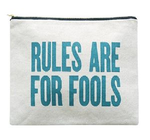 Large Cosmetic Pouch Rules Are For Fools - make-up & wash bags
