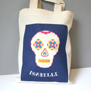 Personalised Skull Bag