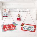 Vintage Style Christmas Sign