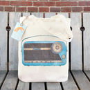 Retro Radio Tote Bag