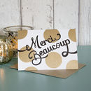 'Merci Beaucoup' Card