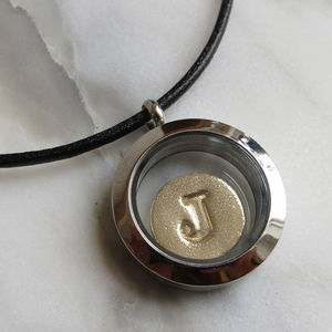Stainless Steel Memory Locket - necklaces & pendants
