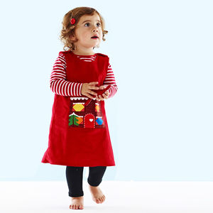 Christmas Gingerbread Man Story Time Dress