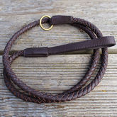 Leather Dog Lead - pets