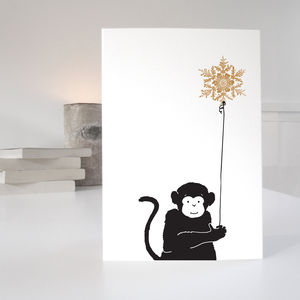 Animal Christmas Card