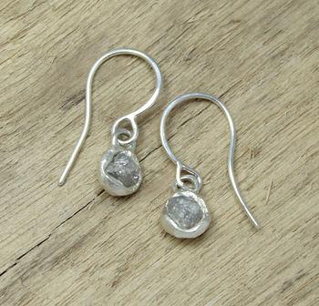 Tamara Gomez - Rough Diamond Earrings