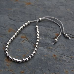 Silver Friendship Bracelets - personalised