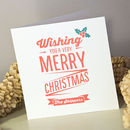 Xmas Wish Pack Of Personalised Cards Or A4 Print