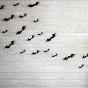 Halloween Bat Wall Decorations - art & pictures