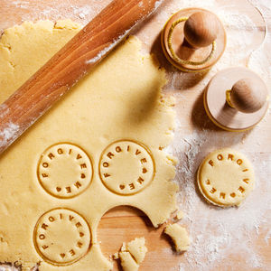 Personalised Cookie Stamper - cookie cutters