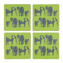 Elephant Family Coaster Set