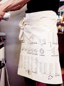 Cooking Guide Waist Apron