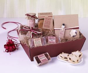 Christmas Treats Hamper - food & drink gifts
